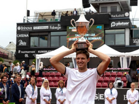 Lo logró: Nico Jarry vence a Lóndero y levanta su primer título ATP