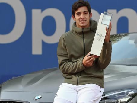 Garin por dos: El chileno es campeón del ATP de Munich
