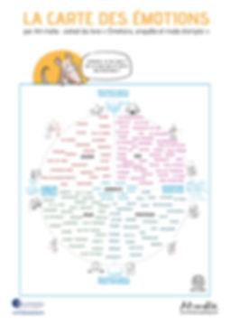 Carte des émotions - FacilitationS Sophrologie et coaching, Emmanuelle Bottreau