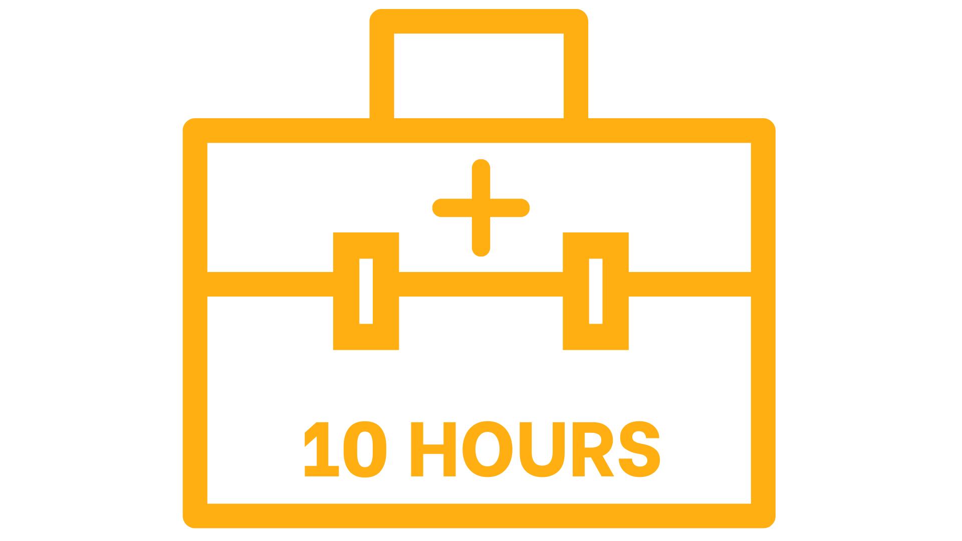 Bucket of 10 Hours