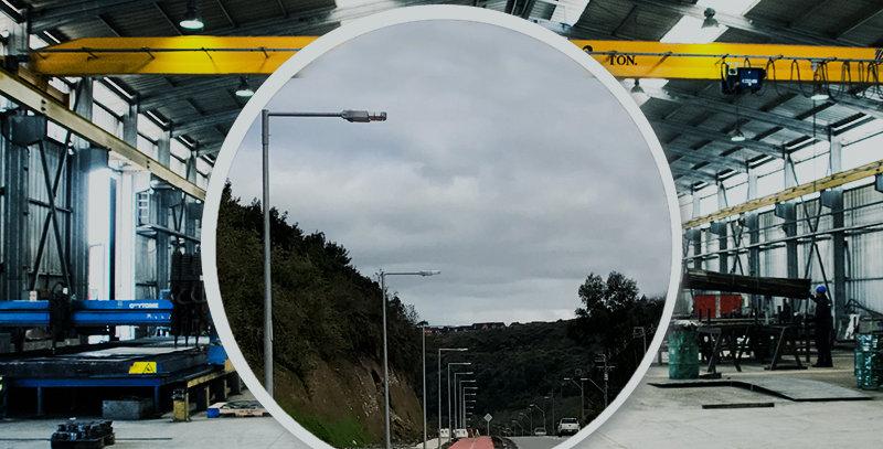 Poste Cónico 5 Metros