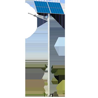 Poste Solar - Postes Solares - Aircal.pn