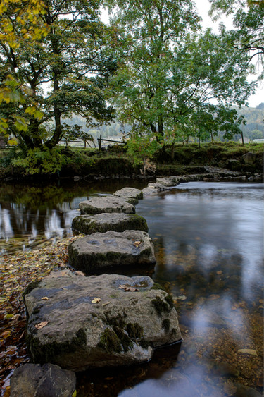 Stepping Stones at Kettlewell