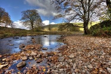 Autumn on the River Wharfe