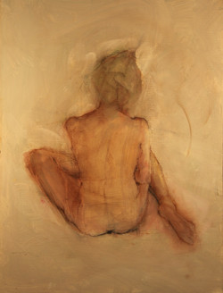 back of nude