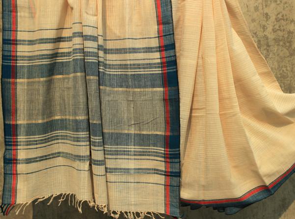 D. No. 85- Plain brown cotton handspun