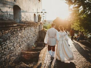Реконструкция средневековой свадьбы  в Мукачево 15 июня 2017 года