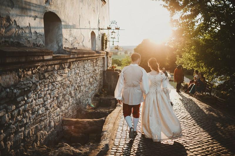 Реконструкция средневековой свадьбы