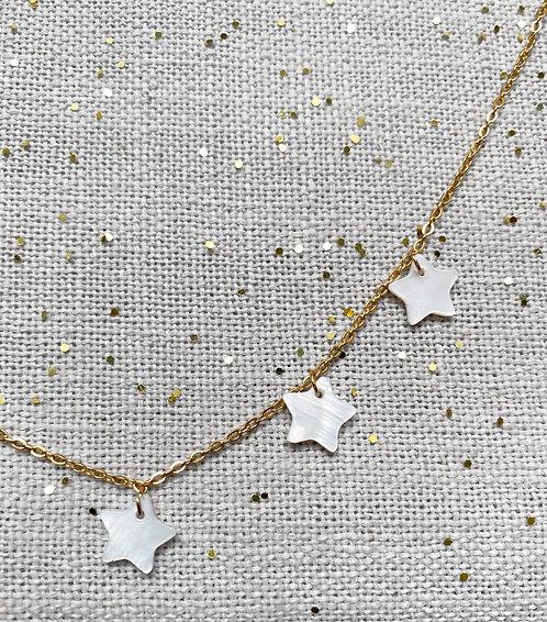Collar Estrellas Nacar