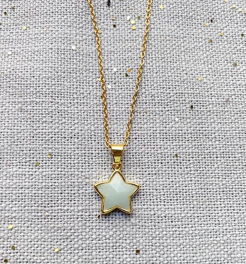 Collar estrella Blanco