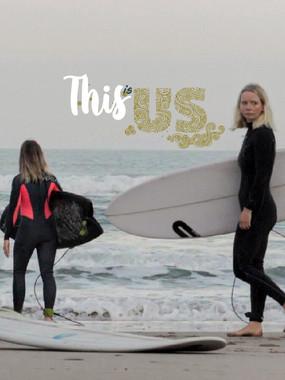 This Is Us | Women surfing made in North Devon