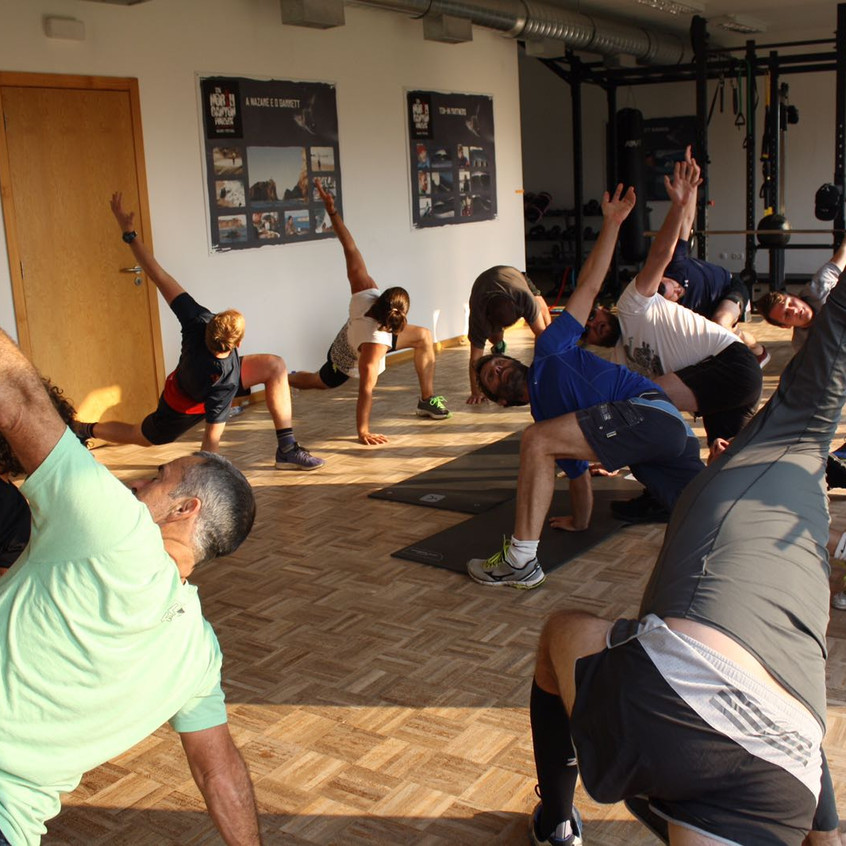 Yoga and core fitness