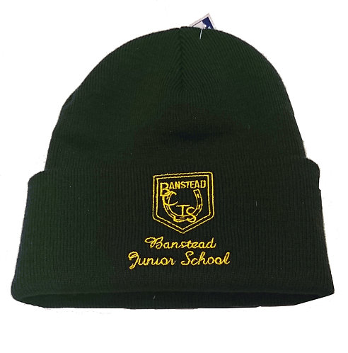 BCJS Knitted hat with logo