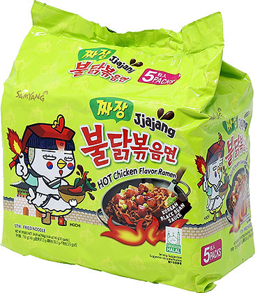 HOT CHICKEN NOODLE (JJAJANG)