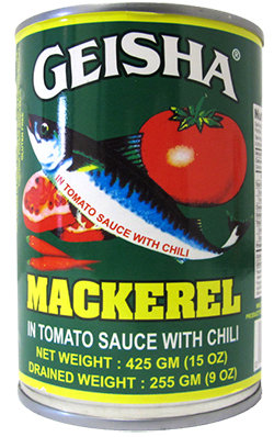 MACKEREL TOMATO SAUCE W/CHILI