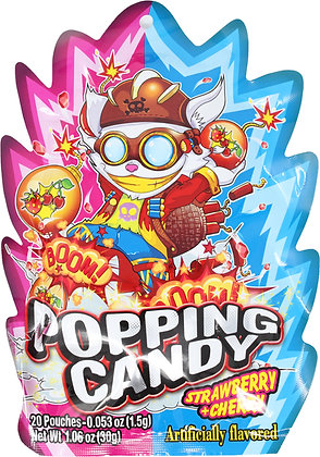 POPPING CANDY (STRAWBERRY&CHERRY)