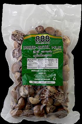 DRIED BETEL NUT (HALVES)