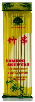 "BAMBOO SKEWER 8"""