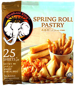 SPRING ROLL PASTRY 8'' (25 SHEETS)