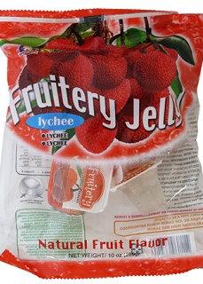 LYCHEE FRUIT JELLY