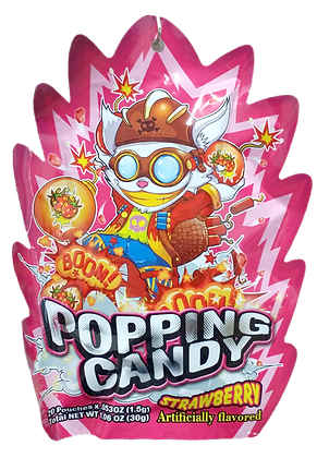 POPPING CANDY (STRAWBERRY)