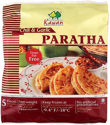 PARATHA CHILL & GARLIC (5 SHEETS)
