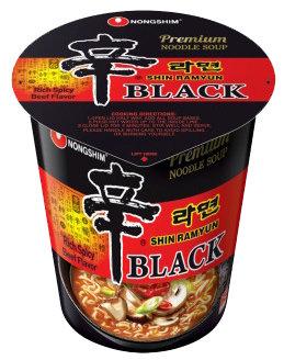 BLACK SHIN CUP NOODLE