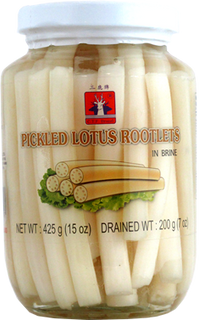 PICKLED LOTUS ROOTLET IN BRINE