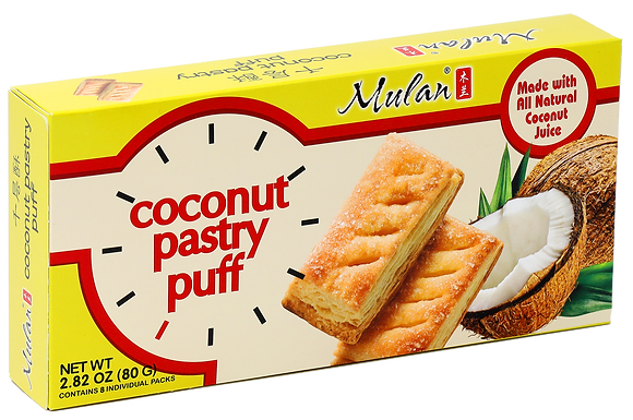 COCONUT PASTRY PUFF