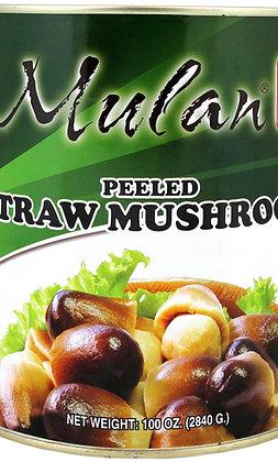STRAW MUSHROOM (PEELED)