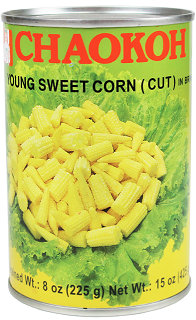 SWEET YOUNG BABY CORN CUT