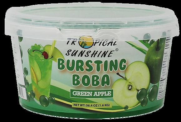 GREEN APPLE BURSTING BOBA