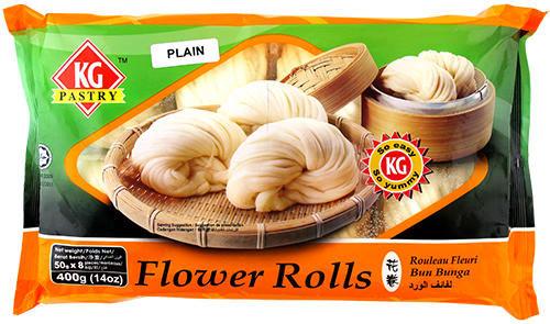 FLOWER ROLL PLAIN BUNS