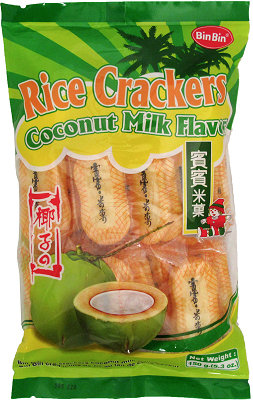 RICE CRACKER (COCONUT)