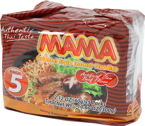 STEW BEEF FLAVOR NOODLE (FAMILY PACK)