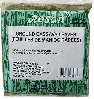 GROUND CASSAVA LEAVES