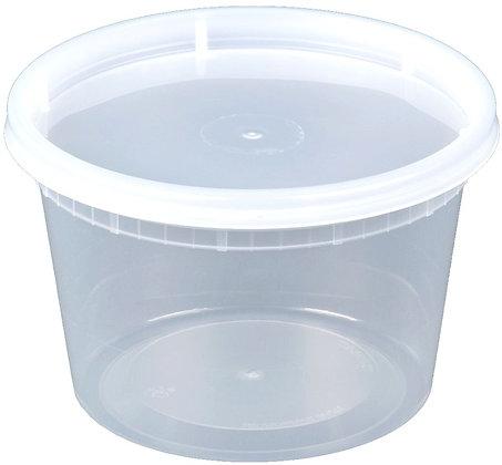 PLASTIC SOUP COMBO 16 OZ (PINT)