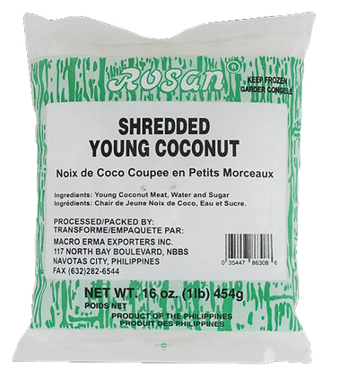 SHREDDED YOUNG COCONUT