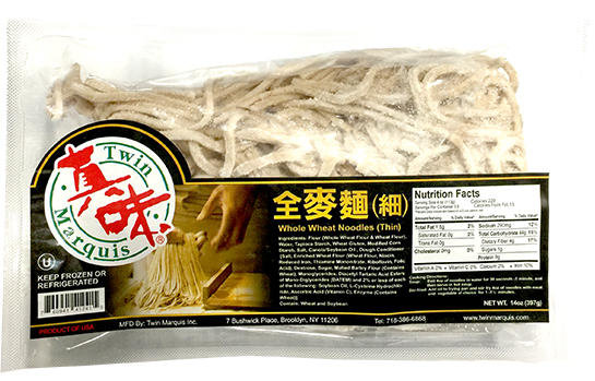 WHOLE WHEAT NOODLE (THIN)