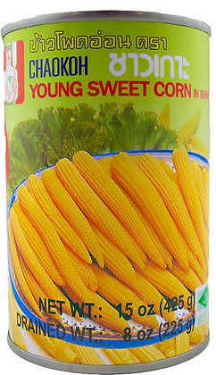 WHOLE YOUNG BABY CORN [15 UP]