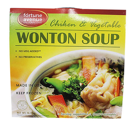 WONTON SOUP (CHICKEN/VEGETABLE)
