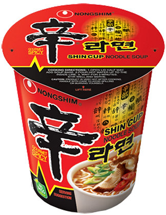 SHIN RAMYUN CUP NOODLE