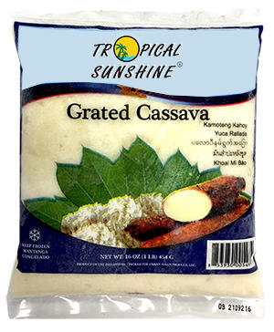 CASSAVA GRATED WHITE