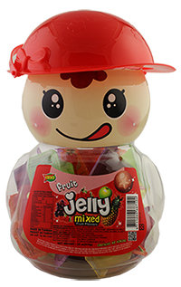 ASSORTED FRUIT JELLY (RED)