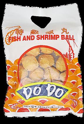 FISH AND SHRIMP BALL