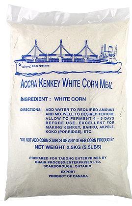 WHITE CORN MEAL (ACCRA KENKEY)