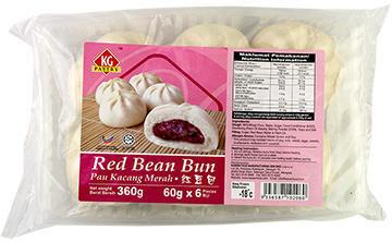 RED BEAN BUNS (6 PC)