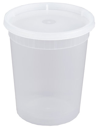 PLASTIC SOUP COMBO 32 OZ (QUART)