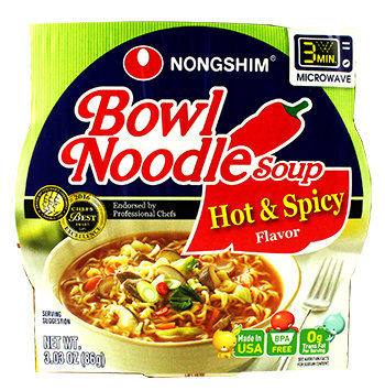 HOT & SPICY BOWL NOODLE