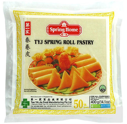 SPRING ROLL SKIN 6'' (50 SHEETS)